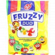 Конфеты жевательные «Fruzzy» Duo микс, 180 г.