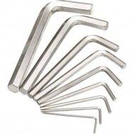 Набор шестигранников угловых «Практик» 1.5-10 мм, 10 шт