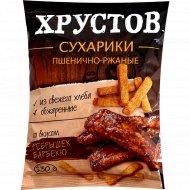 Сухарики «Хрустов» со вкусом ребрышек барбекю, 130 г.