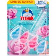 Подвесной очиститель унитаза «Туалетный Утенок» цветочный, 38.6 г.