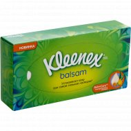 Салфетки «Kleenex Balsam» в коробке, 72 шт.