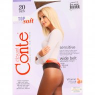 Колготки женские «Conte» Top soft, bronz, 20 den.