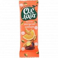 Батончик фруктово-ореховый «Ол'Лайт» апельсин и имбирь, 30 г