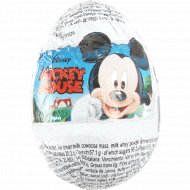 Шоколадное яйцо «Zaini» Mickey Mouse, 20 г.