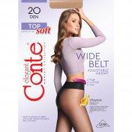 Колготки женские «Conte» Top Soft, 20 den, размер 4, bronz
