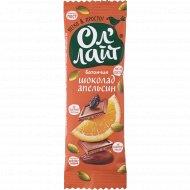 Батончик фруктово-ореховый «Ол'Лайт» шоколад и апельсин, 30 г