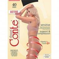 Колготки женские «Conte» Active 40 den, nero.