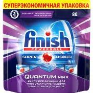 Таблетки для посудомоечных машин «Finish» powerball quantum max, 80 шт.