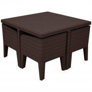 Комплект мебели «Keter» Columbia Dining Set. 5, коричневый.