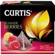 Чайный напиток «Curtis» летние ягоды, 20 пакетиков.
