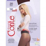 Колготки женские «Conte» Top soft, nero, 20 den.