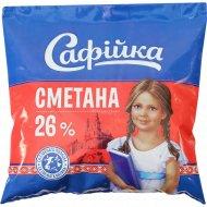 Сметана «Сафийка» 26%, 400 г.