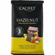 Темный шоколад с лесным орехом, 300 г.