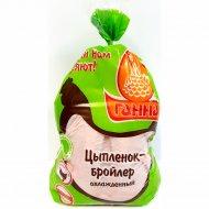 Тушка цыплёнка-бройлера «Ганна» охлажденная, 1 кг., фасовка 1.6-2.2 кг