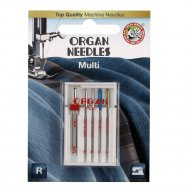 Иглы универсальные «Organ» 5/Multi Blister.