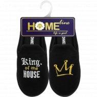 Туфли домашние «Home Line» мужские, размер 40-41.