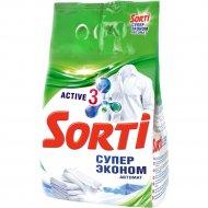 Порошок стиральный «Sorti» автомат, супер эконом 3 кг.