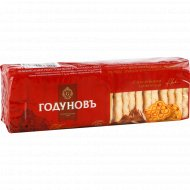 Печенье сахарное «Годуновъ» с кусочками шоколада, 400 г.