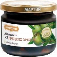 Варенье из грецких орехов «Мартин» 390 г.