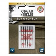 Иглы «Organ» EL x 705 CR SUK 6/80-90 Blister.