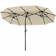 Зонт «Testrut» Terrassenschirm Luna natur 465x270