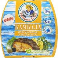 Камбала обжаренная «Рыбачка Соня» в томатном соусе, 240 г.