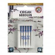 Иглы вышивальные «Organ» BLUE TIP 5/75 Blister.