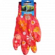 Перчатки «Haus Frau» садовые с полиуретановым покрытием, 1 пара.
