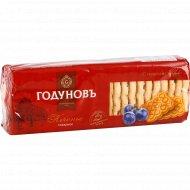 Печенье сахарное «Годуновъ» с изюмом, 400 г.