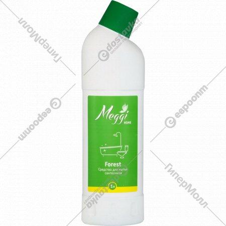 Средство для мытья сантехники «Meggi» forest, МС 202, 1 л.