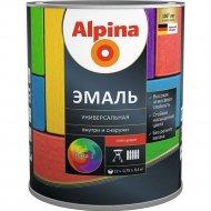 Эмаль «Alpina» универсальная, база 1, шелковисто-матовый, 2.5 л