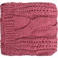 Шарф женский розовый 23х195 см.