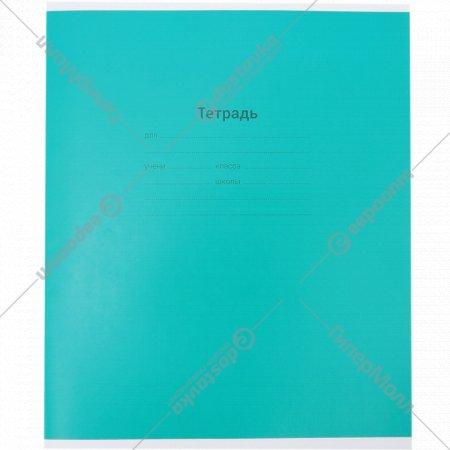 Тетрадь «Одноцветная» клетка, 12 листов.