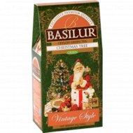 Чай зеленый «Basilur» Рождественская ель, 85 г.