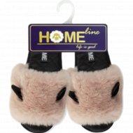 Туфли домашние «Home Line» женские, размер 35-36.