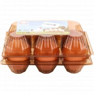Яйцо куриное «1-ая Минская Птицефабрика» цветное, С-1, 6 шт.