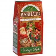 Чай черный «Basilur» новогодний подарок, 85 г.