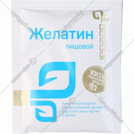 Желатин пищевой «Beebar» 15 г.