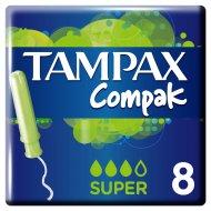 Тампоны «Tampax» Compak Super с аппликатором 8 шт.