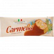 Мороженое «Carmella» двухслойное, карамельное, 70 г.