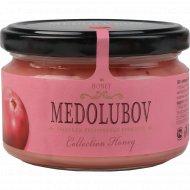 Крем-мед «Medolubov» с клюквой, 250 г.