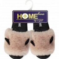 Туфли домашние «Home Line» женские, размер 39-40.