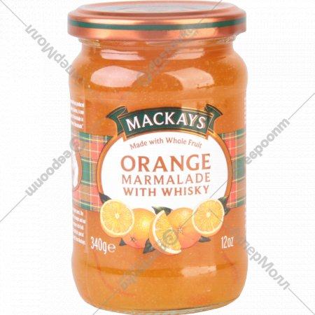 Десерт фруктовый «Mackays» из севильского апельсина c виски, 340 г.