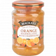 Десерт фруктовый «Mackays» из апельсина c шампанским, 340 г.