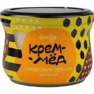 Крем-мед «Demilie» с орехом кедровым, 200 г.