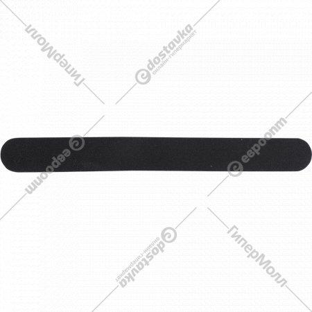 Пилка для натуральных и искусственных ногтей, черная, 180/180 грит.