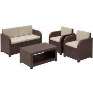 Комплект мебели «Allibert» Modena Set, коричневый.