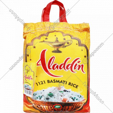Рис длиннозерный «Alladin» пропаренный, Селла Басмати, 5 кг