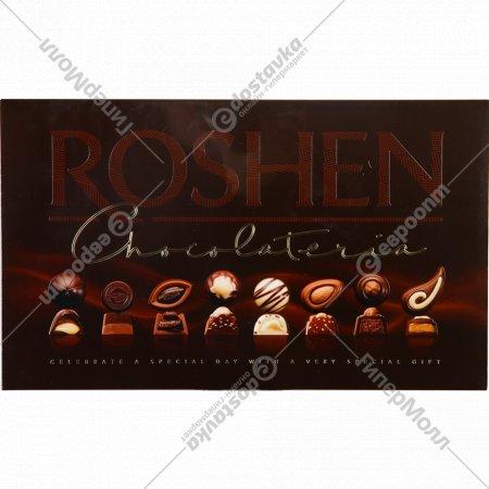 Набор шоколадных конфет и пралиновых