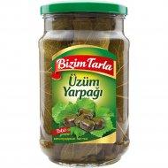 Листья виноградные «Bizim Tarla» консервированные пастеризованные, 640 г